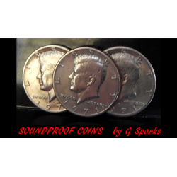 Soundproof Coins by G Sparks Magic - Trick wwww.magiedirecte.com