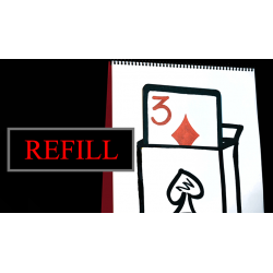 Refill for Cardiographic Recall (Carte) by Martin Lewis, XapKat and Bond Lee - Trick wwww.magiedirecte.com