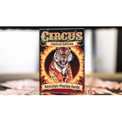 Limited Edition Nostalgic Circus Playing Cards wwww.magiedirecte.com