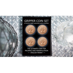 Gripper Coin (Set/English Penny) by Rocco Silano - Trick wwww.magiedirecte.com