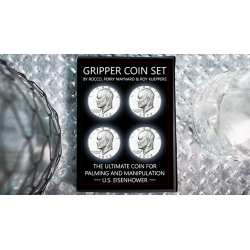 Gripper Coin (Set/U.S. Eisenhower) by Rocco Silano - Trick wwww.magiedirecte.com