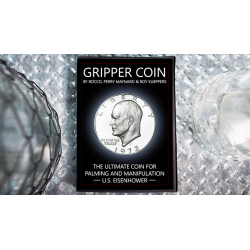 Gripper Coin (Single/U.S. Esienhower) by Rocco Silano - Trick wwww.magiedirecte.com