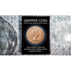 Gripper Coin (Single/English Penny) by Rocco Silano - Trick wwww.magiedirecte.com
