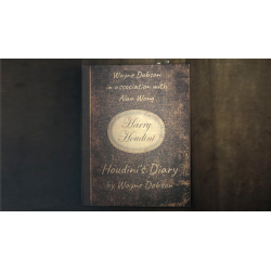 Houdini's Diary (Gimmick and Online Instructions) by Wayne Dobson and Alan Wong - Trick wwww.magiedirecte.com