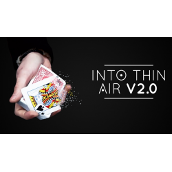 Into Thin Air 2.0 Red (DVD and Gimmick) by Sultan Orazaly - DVD wwww.magiedirecte.com