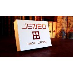 JENZO White (Gimmicks and Online Instructions) by Simon Craze - Trick wwww.magiedirecte.com