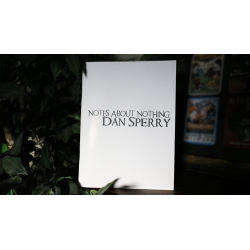 NOTES ABOUT NOTHING by Dan Sperry - Book wwww.magiedirecte.com