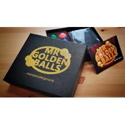 Mr Golden Balls 2.0 (Gimmicks and Online Instructions) by Ken Dyne - Trick wwww.magiedirecte.com