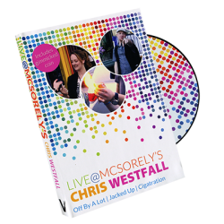 Live at McSorely's Euro version (DVD and Gimmick) by Chris Westfall and Vanishing Inc. - DVD wwww.magiedirecte.com