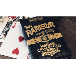 The Parlour Playing Cards (Black Variant) wwww.magiedirecte.com