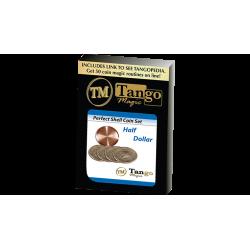 PERFECT SHELL COIN Set HALF DOLLAR (Shell / 4 Coins ) - Tango Magic wwww.magiedirecte.com