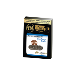 PERFECT SHELL COIN Set EISENHOWER DOLLAR (Shell / 4 Coins) - Tango Magic wwww.magiedirecte.com