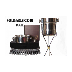 Foldable Coin Pail by Victor Voitko (Gimmick and Online Instructions) - Trick wwww.magiedirecte.com