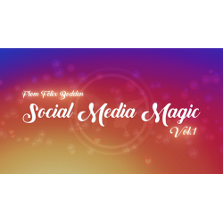 Social Media Magic Volume 1 (DVD and Gimmicks) by Felix Bodden - DVD wwww.magiedirecte.com