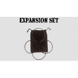 Expansion Set in Dark Black (Gimmick and Online Instructions) by Matthew Garrett - Trick wwww.magiedirecte.com