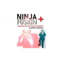 Ninja+ Fusion in Dark Black (With Online Instructions) by Matthew Garrett & Brian Caswell - Trick wwww.magiedirecte.com