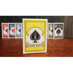Bicycle Jaune Cartes à Jouer  by US Playing Card wwww.magiedirecte.com