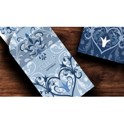Tulip Playing Cards (Light Blue) by Dutch Card House Company wwww.magiedirecte.com