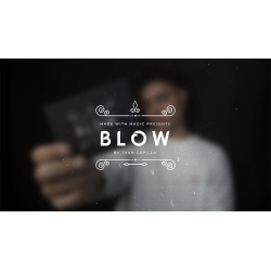 Made with Magic Presents BLOW (Red) by Juan Capilla wwww.magiedirecte.com