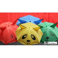 Umbrellas from Handkerchief by Mr. Magic - Tour de Magie wwww.magiedirecte.com