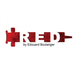 RED by Edouard Boulanger wwww.magiedirecte.com