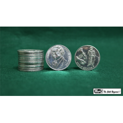 HOUDINI PALMING COINS (12 pieces) - Mr. Magic wwww.magiedirecte.com