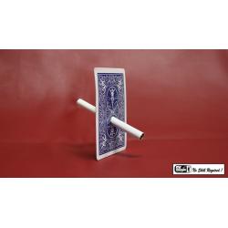 Cigarette Through Card - Bicycle Back by Mr. Magic - Trick wwww.magiedirecte.com
