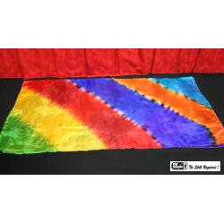 "Production Silk Rainbow (36"" X 36"") by Mr. Magic wwww.magiedirecte.com"