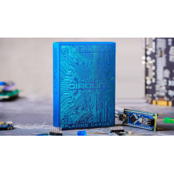Circuit (Blue) Playing Cards by Elephant Playing Cards wwww.magiedirecte.com