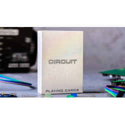 Circuit (White) Playing Cards by Elephant Playing Cards wwww.magiedirecte.com