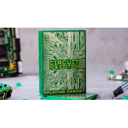Circuit (PCB) Playing Cards by Elephant Playing Cards wwww.magiedirecte.com