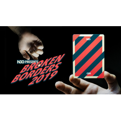 Broken Borders 2019 Playing Cards by The New Deck Order wwww.magiedirecte.com