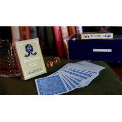 Blue Ribbon Playing Cards (Blue) wwww.magiedirecte.com