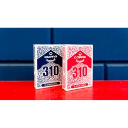COPAG 310 SlimLine jeu de Cartes (Rouge) wwww.magiedirecte.com