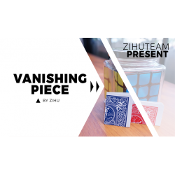 Vanishing Piece (Gimmicks and Online Instructions) by Zihu - Trick wwww.magiedirecte.com