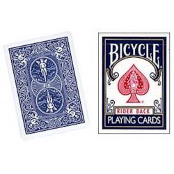 Bicycle Rider Back Dos Bleu ancien étui wwww.magiedirecte.com