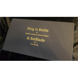 Ring in Bottle & BarBlade (With Online Instructions) by Matthew Garrett & Brian Caswell - Trick wwww.magiedirecte.com