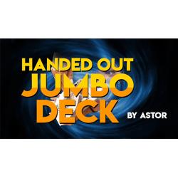 Handed Out Jumbo Deck by Astor wwww.magiedirecte.com