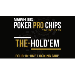 The Hold'Em Chip (Gimmicks and Online Instructions) by Matthew Wright - Trick wwww.magiedirecte.com
