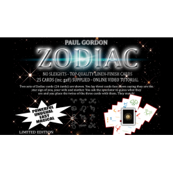 Zodiac de Paul Gordon - Tour de Magie wwww.magiedirecte.com