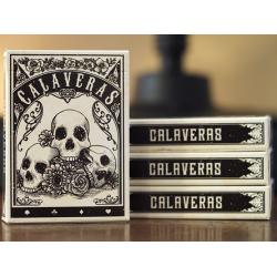 Calaveras jeu de Cartes par Chris Ovdiyenko wwww.magiedirecte.com