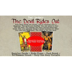 The Devil Rides Out de Paul Gordon - Tour de Magie wwww.magiedirecte.com