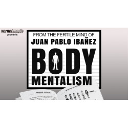Body Mentalism by Juan Pablo Ibañez - Livre wwww.magiedirecte.com