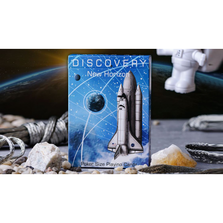 Discovery New Horizon (Blue) de Elephant Playing Cards wwww.magiedirecte.com