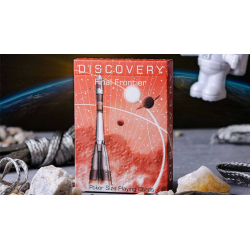 Discovery Final Frontier (Red) Playing Cards by Elephant Playing Cards wwww.magiedirecte.com