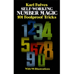 Self Working Number Magic by Karl Fulves - Book wwww.magiedirecte.com