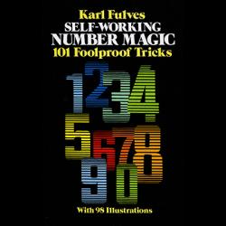 Self Working Number Magic by Karl Fulves - Book wwww.magiedirecte.com
