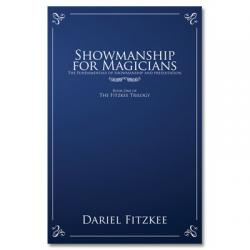 Showmanship for Magicians by Dariel Fitzkee - Book wwww.magiedirecte.com