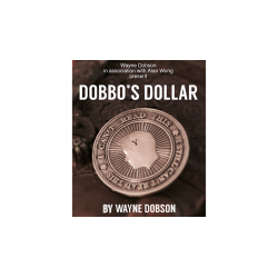 Dobbo's Dollar (Gimmick and Online Instructions) by Wayne Dobson and Alan Wong - Trick wwww.magiedirecte.com