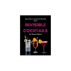 Invisible Cocktail (Gimmick and Online Instructions) by Wayne Dobson and Alan Wong - Trick wwww.magiedirecte.com